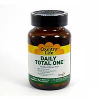 Витамины Country Life Daily Total One (60 желатиновых капсул)