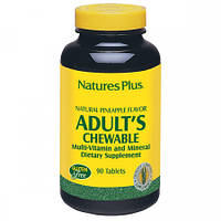 Жевательные Витамины для Взрослых Natures Plus Adult's Chewable (90 жевательных таблеток)