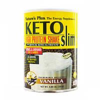 Насичений Протеїновий Коктейль Natures Plus Keto Slim (264 грама) (106038) Фірмовий товар!
