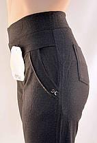 Штани жіночі - великі розміри 5XL - 7XL Лосіни жіночі з кишенями - батал, фото 3