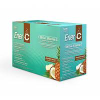 Витаминный Напиток для Повышения Иммунитета Вкус Ананаса и Кокоса Ener C Vitamin C (30 пакетиков)