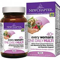 Ежедневные Витамины для Женщин 40+ New Chapter Every Woman's 40+ (48 таблеток)
