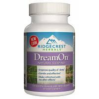 Природный Комплекс для Здорового Сна RidgeCrest Herbals DreamOn (60 желевых капсул)