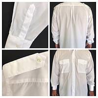 Рубашка мужская белая (форма)