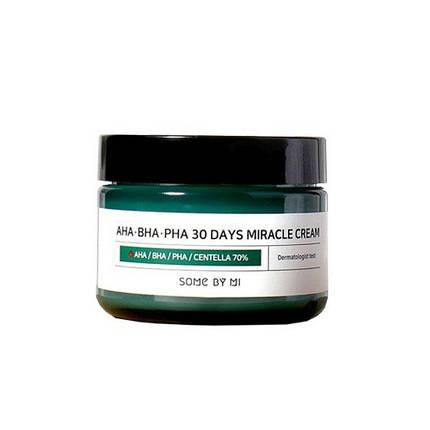 Крем  для проблемной кожи Some By Mi AHA-BHA-PHA 30 Days Miracle Cream, 50 мл, фото 2
