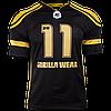 Футболка Gorilla Wear Athlete T Shirt Dennis Wolf Black/Gold