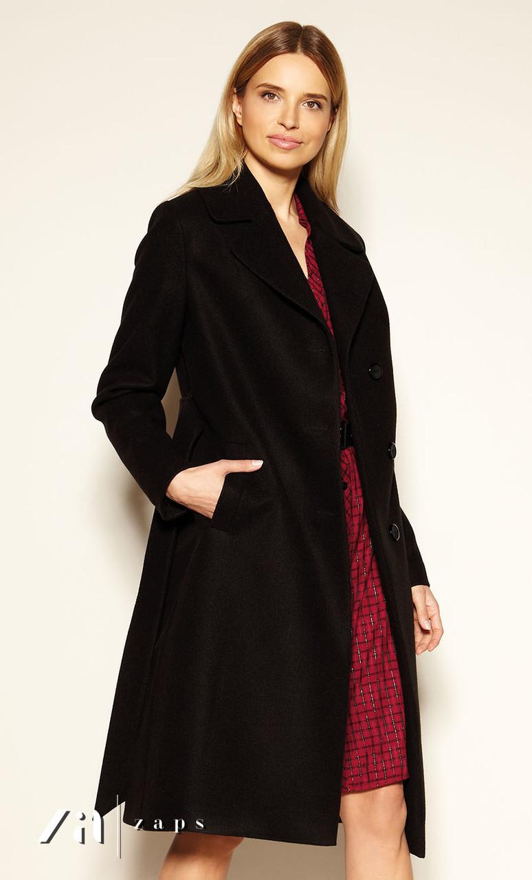 Пальто Edvige Zaps черного цвета.