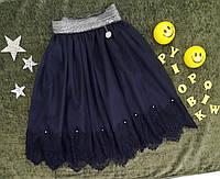 Школьная юбка для девочек с евросеткой 134-152 рост
