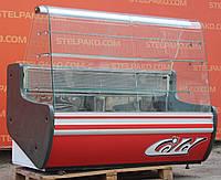 Кондитерская холодильная витрина «Cold» 1.65 м. (Польша), широкая выкладка 75 см., Б/у , фото 1