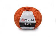 YarnArt Jeans, Рыжий №85
