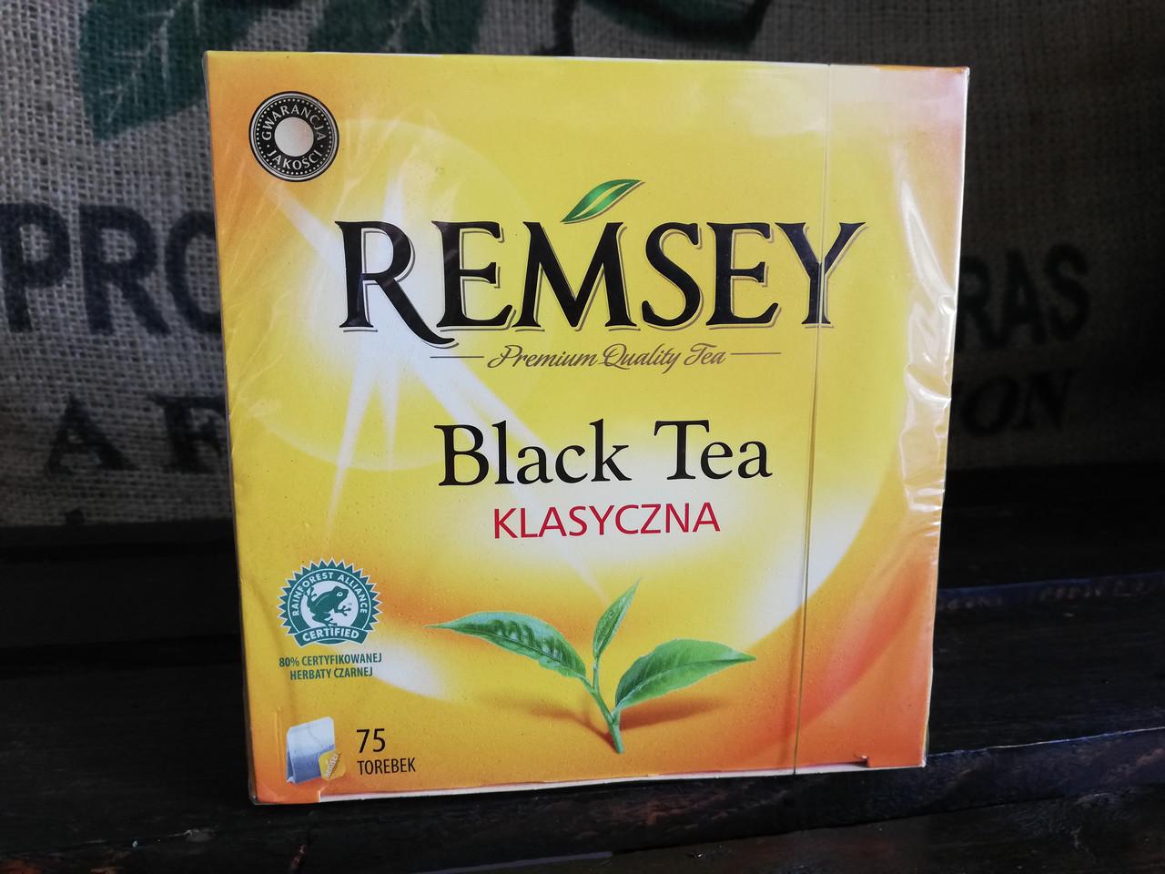 Рамсей чай черный Remsey классический