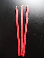 Свечи оранжевые восковые 100% premium quality ⭐⭐⭐⭐⭐ /2.5 h/ 07 см Ø 20 см /собственное производство✅