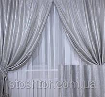 Комплект штор из ткани Блекаут Софт №1