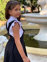 """Детский школьный сарафан на лямках """"Кристина"""" с расклешенной юбкой (2 цвета), фото 3"""