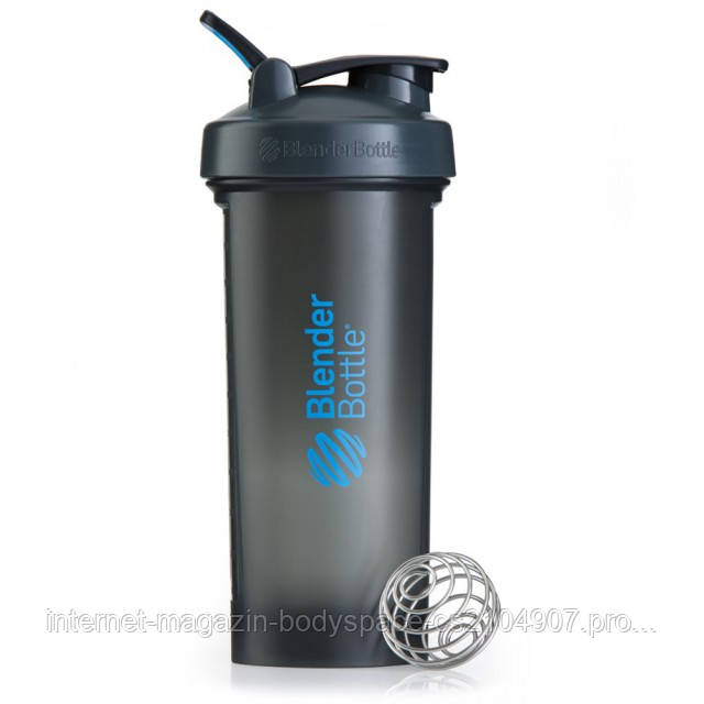 Blender Bottle, Спортивный шейкер BlenderBottle Pro45 Gray & Blue, 1300 мл