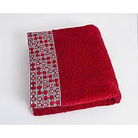 Полотенце Shamrock - Lykia красное 50*90