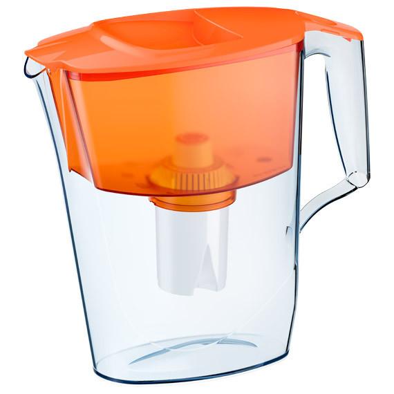 Глечик АКВАФОР Стандарт 2.5 л помаранчевий фільтр для будинку