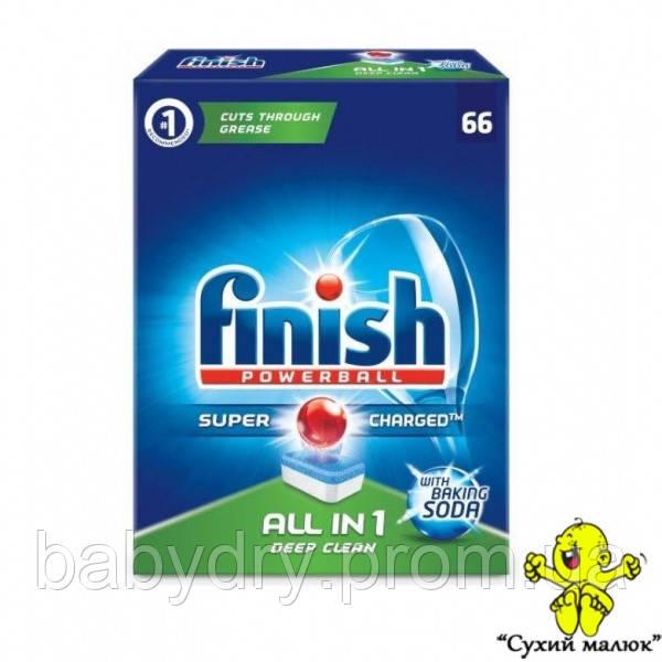 Таблетки до посудомийної машини Finish All in 1 (78 табл.)  - CM01029