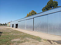 Будівництво та реконструкція ангарів,зерносховищ,закриттів,складських приміщень,колгоспів і ферм. +