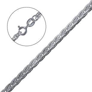 Срібна ланцюжок плоский колос