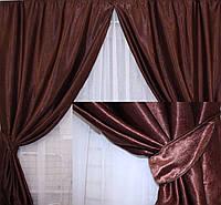 Комплект штор из ткани Блекаут Софт №3