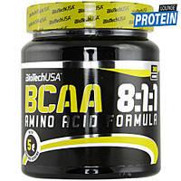 Аминокислоты bcaa BioTech BCAA 8:1:1 без вкусовых наполнителей (300 g)