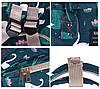 Сумка - рюкзак для мамы Цветы ViViSECRET, фото 3