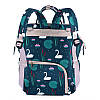 Сумка - рюкзак для мамы Цветы ViViSECRET, фото 6