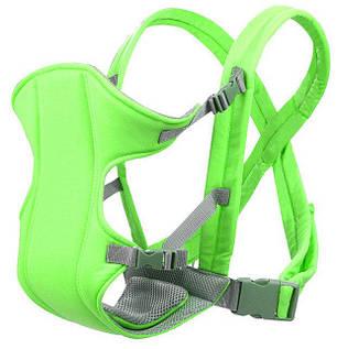 Слинг-рюкзак для переноски ребенка Baby Carriers Салатовый, фото 2