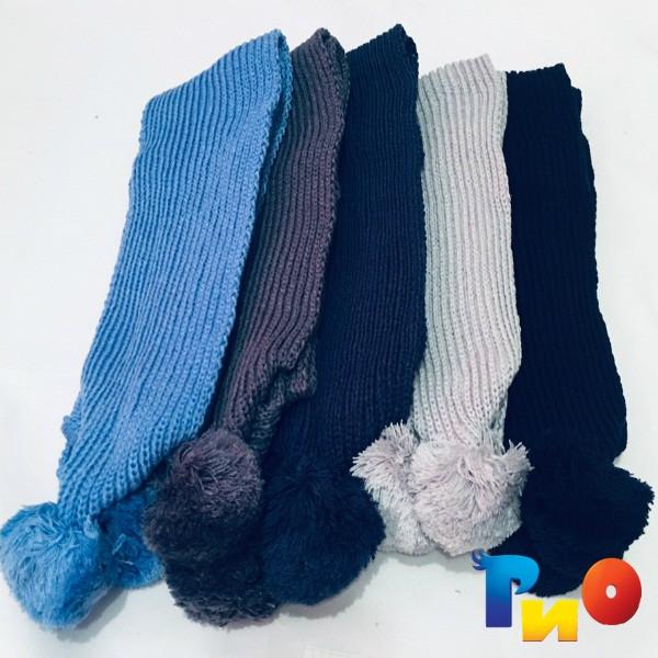 Вязанный шарф для мальчиков ( 5 ед. в уп.) NA_6455