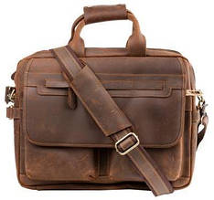 Кожаный портфель ETERNO RB-T29523, мужской, коричневый