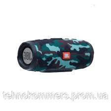 Колонка JBL Charge mini 3+ (bluetooth) серо - зелёная, фото 2