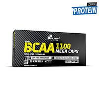 Аминокислоты bcaa Olimp BCAA Mega Caps 1100 (120 caps)