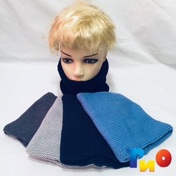 Оригинальный  хомут-шарф двойной, для мальчиков ( 5 ед. в уп.) NA_6560