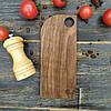 Доска для подачи из ореха 22х9,5х1 см