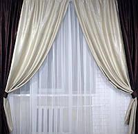 Комплект штор из ткани Блэкаут Софт (двухцветные) №5