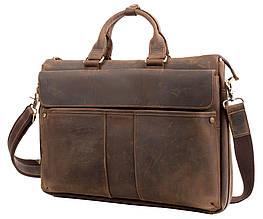 Кожаный портфель ETERNO RB-T1096, мужской, коричневый