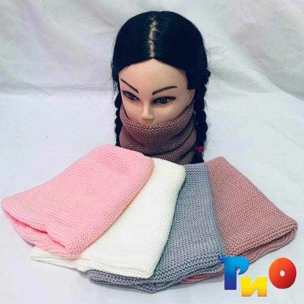 Оригинальный  хомут-шарф двойной, для девочек ( 5 ед. в уп.) NA_6560