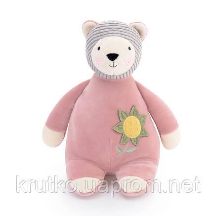 Мягкая игрушка Розовый мишка, 28 см Metoys, фото 2