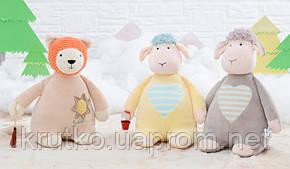 Мягкая игрушка Бежевый мишка, 28 см Metoys, фото 2
