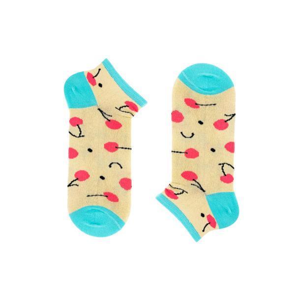 Женские короткие носки CHERRY, короткие, Хлопок, Мужские\Женские, Шкарпетки з написом