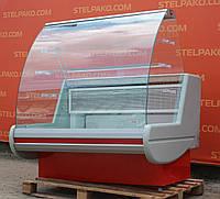 Холодильная витрина кондитерская «Росс Siena» 1.3 м. (Украина), малый срок эксплуатации, Б/у, фото 1