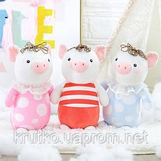 Мягкая игрушка Lili Pig Pink, 25 см Metoys, фото 2