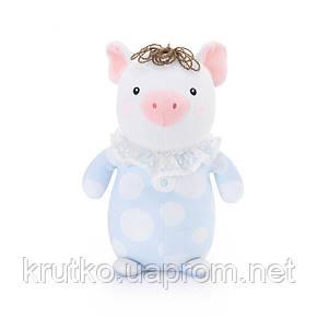 Мягкая игрушка Lili Pig Blue, 25 см Metoys, фото 2