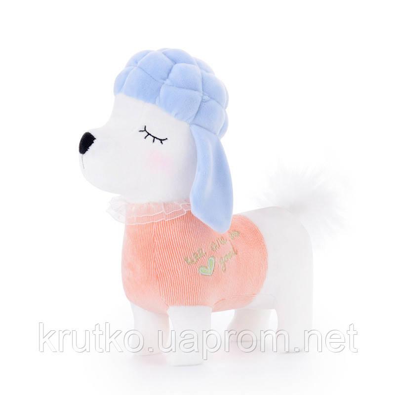 Мягкая игрушка Пудель в розовом, 29 см Metoys