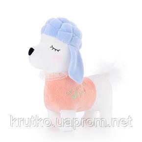 Мягкая игрушка Пудель в розовом, 29 см Metoys, фото 2