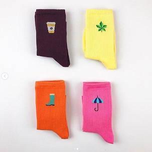 """Бордовые носки """"КАПУЧИНО"""". ТМ SOX, фото 2"""