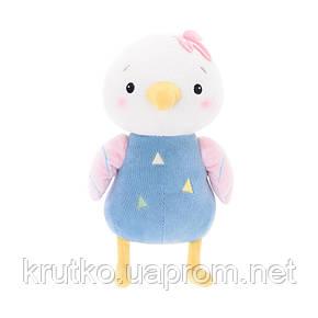Мягкая игрушка Цыпленок в голубом, 22 см Metoys, фото 2