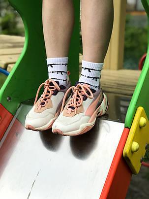 Белые носки КАЛАШНИКОВ. Артикул:SF-06, фото 2