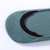 Комплект носков-следов (5 пар) с силиконовым фиксатором на ноге, Набор носков Размер 36-41, фото 2